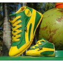 HIGH-TOP  GREEN & YELLOW