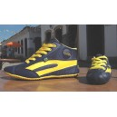 High-Top TAYGRA, Navy & Yellow