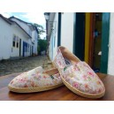 Sand shoes Golden Floral