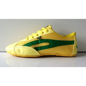 Slim Sneaker Yellow / Green