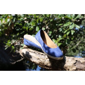 Ballerine Bleu Royal